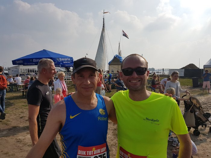 10km Dijk tot Dijkloop 2017Loosdrecht